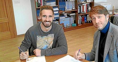 Borja Fern�ndez, firma por el Valladolid.