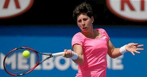 La tenista española regresará a Barcelona este mismo martes.