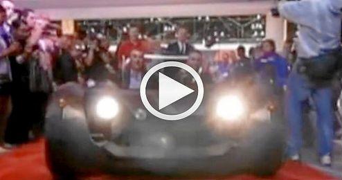 Strati, el primer coche impreso en 3D