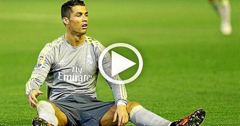 La agresi�n de Ronaldo a Molinero, desde una toma in�dita y n�tida.