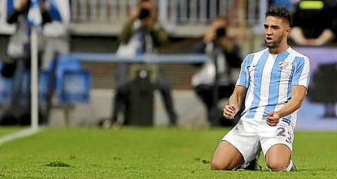 Thigadouini podría salir del Málaga.