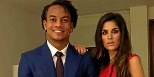 André Carrillo, junto a su pareja Suhaila Jad.