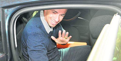 Damiao, en su llegada a Sevilla.