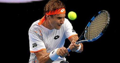 Ferrer era el único español que quedaba en el torneo.