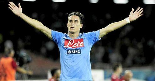 Jos� Callej�n firm� dos goles en la goleada del N�poles ante el Empoli.