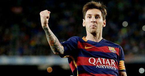 Messi consigui� hace menos de un mes su quinto bal�n de oro