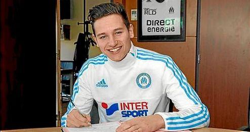 Florian Thauvin firma con el Marsella