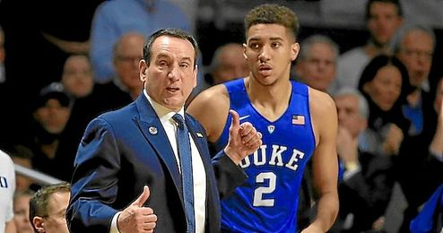 Mike Krzyzewski entrenador de Duke