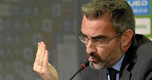 Macià ha tratado numerosas cuestiones en sala de prensa.