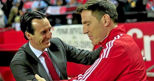 """El entrenador del Celta, Eduardo """"Toto"""" Berizzo."""