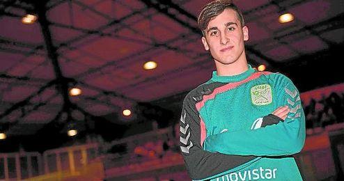 Roberto S�nchez, natural de Almad�n de la Plata, disfruta de su aventura en el Movistar Inter.