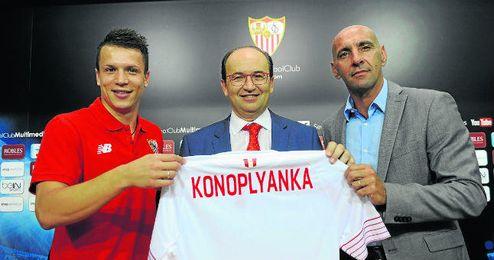 Monchi sigue confiando en Konoplyanka.