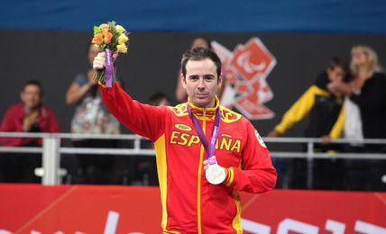 Álvaro Varela logró dos platas en Londres 2012.