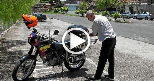 Fabrican una motocicleta cuyo combustible es un litro de agua