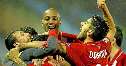 El Sevilla ha alcanzado la final invicto, con 22 goles a favor y s�lo dos en contra.
