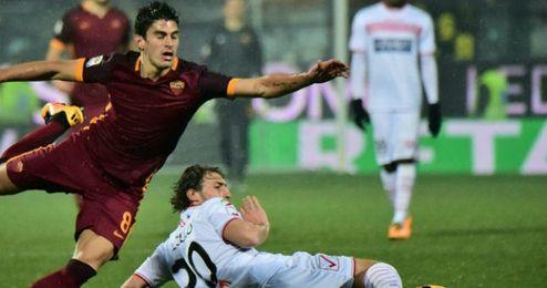 Perotti es titular desde que llegó con Luciano Spalletti.