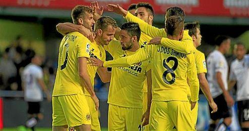 El delantero llegó esta temporada al conjunto castellonense procedente del Tottenham inglés.