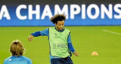 Marcelo es la gran novedad del Real Madrid.