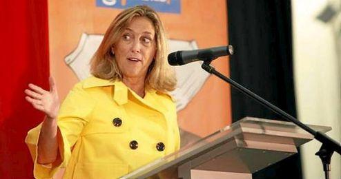 Concepci�n Dancausa, delegada del Gobierno de Madrid.