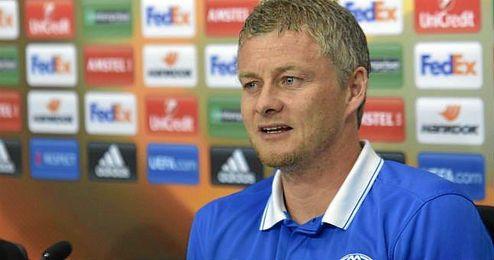 En la imagen, el técnico noruego del Molde.