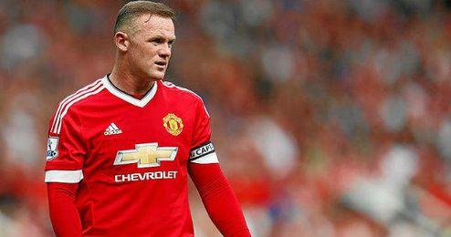 Rooney sufre una lesión en la rodilla.