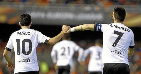 Imagen de la goleada del Valencia.