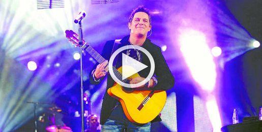 Alejandro Sanz detiene su concierto en México.
