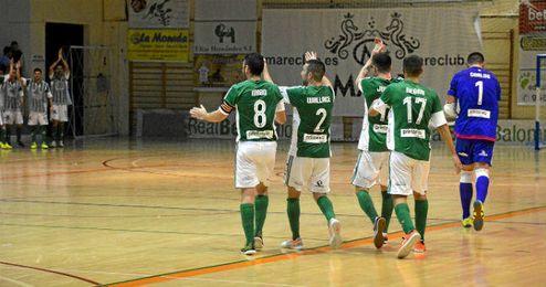 En la imagen, partido del Real Betis FSN.