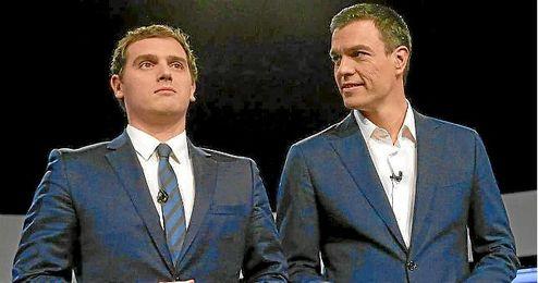 Rivera y Sánchez, acuerdo por el Gobierno.