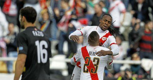El Sevilla tampoco pudo vencer en Vallecas.
