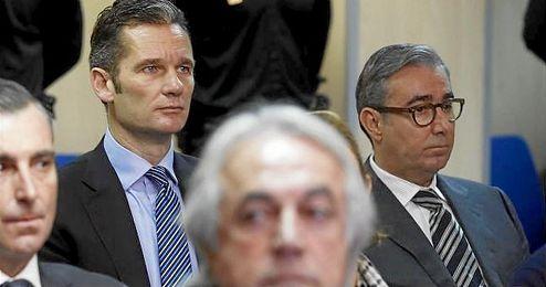 En la imagen, los imputados en el caso Nóos, Iñaki Undargarín y Diego Torres.