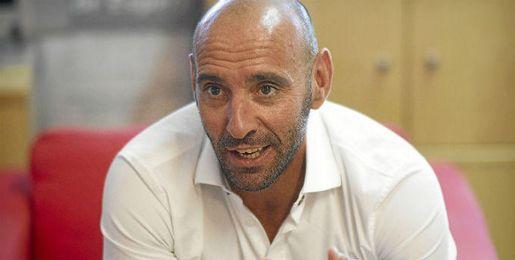 Monchi, durante una entrevista con ESTADIO.