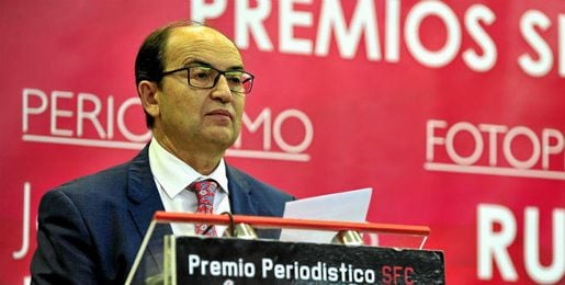 Jos� Castro, presidente del Sevilla.