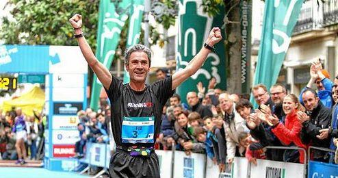 En la imagen, el excampeón del mundo y de Europa de maratón, Martín Fiz.