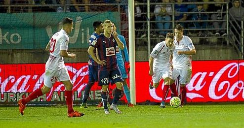 El Eibar nunca ha ganado en el Sánchez Pizjuán.