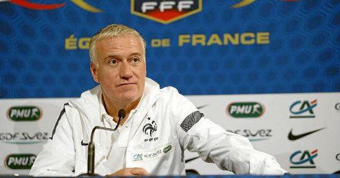 En la imagen, el seleccionador franc�s, Didier Deschamps.
