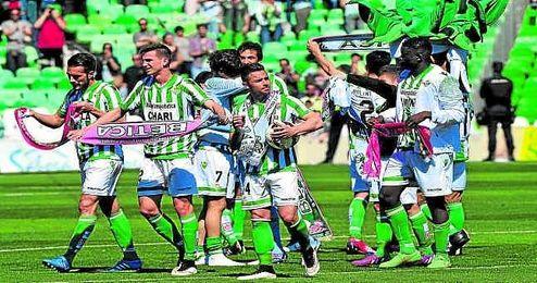 Imagen del curso pasado, ante el Valladolid, cuando el Betis se impuso por 4-0.