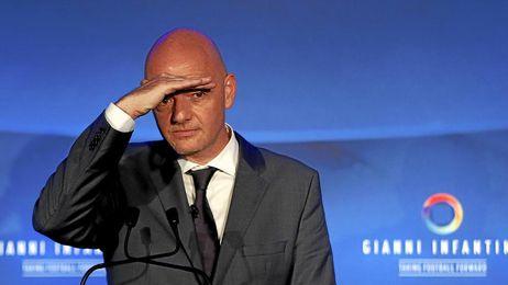 Infantino, nuevo presidente de la FIFA.