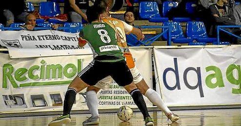 Lance del partido entre el Cartagena FS y el Real Betis FSN.