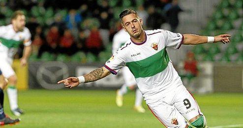 Sergio Le�n, m�ximo goleador