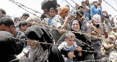 Los refugiados que lleguen a las fronteras europeas serán enviados a Turquía.