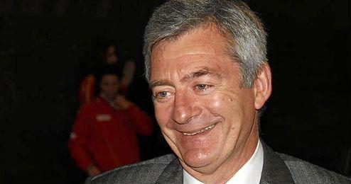 En la imagen, el presidente de la Real Federación Española de Natación, Fernando Carpena.