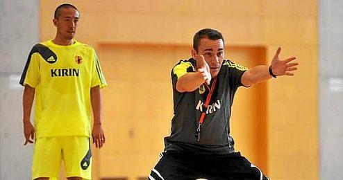 En la imagen, el ex seleccionador japonés, Miguel Rodrigo.