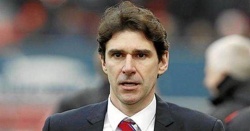 En la imagen, el español Aitor Karanka, técnico del Middlesbrough.