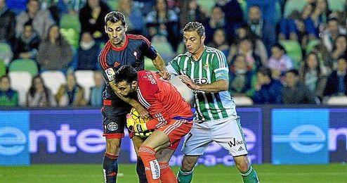 Lance del Betis-Celta del Villamarín.
