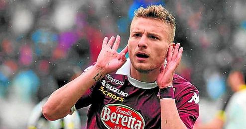 Immobile ya lleva cinco goles en el Torino.