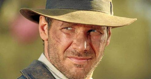 En la imagen, el actor Harrison Ford en el papel de Indiana Jones.