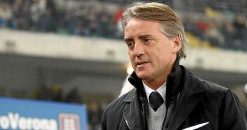 Mancini se descarta para hacerse con las riendas de la selección italiana.