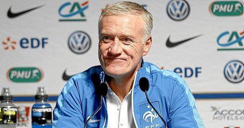 Deschamps, seleccionador de Francia.