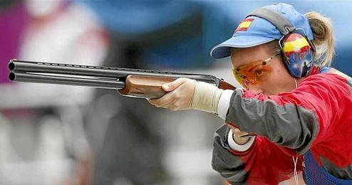 En la imagen, la tiradora olímpica española, Fátima Gálvez.